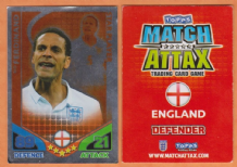 England Rio Ferdinand Manchester United 92 Star Player